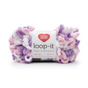 Go to Product: Red Heart Loop-It Yarn (100 g/3.5 oz) in color Tickle Pink Purple