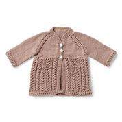 Go to Product: Bernat Classic Knit Baby Cardigan, 6 - Lace in color