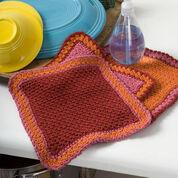 Red Heart Crochet Dandy Dishcloths