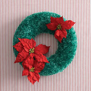 Go to Product: Bernat Holidays Christmas Wreath to Crochet in color