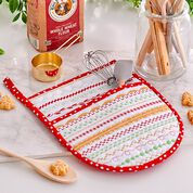 Coats & Clark Holiday Hot Mitt for baking or giving