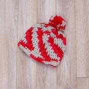 Red Heart Sports Fan Hat & Scarf, S