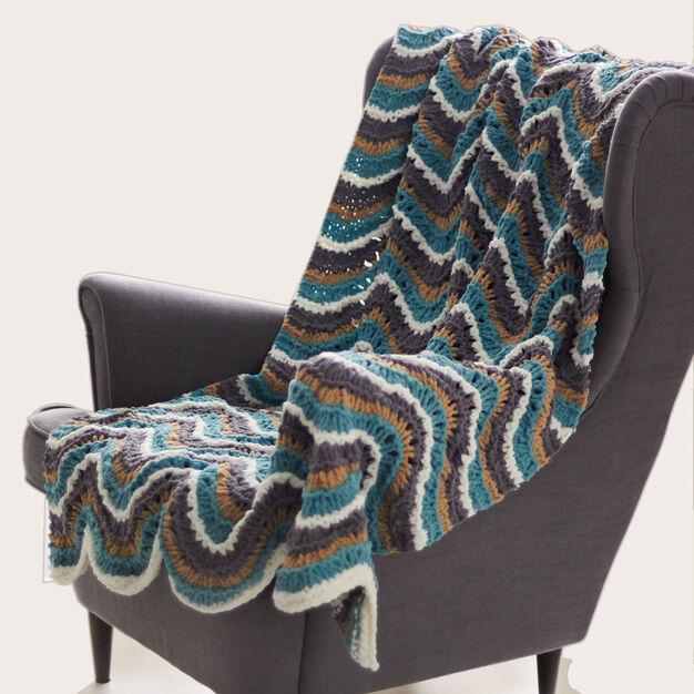 Bernat Ripple Blanket