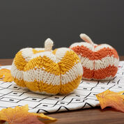 Go to Product: Red Heart Spicy Knit Pumpkins, Yellow Pumpkin in color
