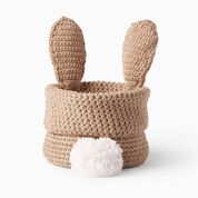 Go to Product: Lily Sugar'n Cream Hoppy Easter Crochet Bunny Basket in color