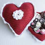 Red Heart Crochet Box of Chocolates