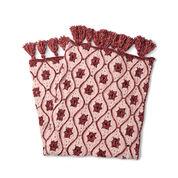 Bernat Moroccan Tile Crochet Afghan