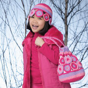 Go to Product: Patons Crazy Circles Cap and Carryall, Cap in color