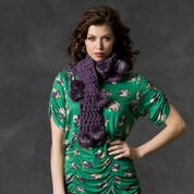 Go to Product: Red Heart Luxe in a Hurry Scarf in color