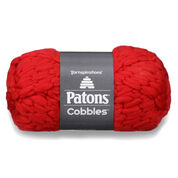Patons Cobbles Yarn, Poppy Red - Clearance Shades*