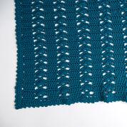 Red Heart Charming Crochet Throw