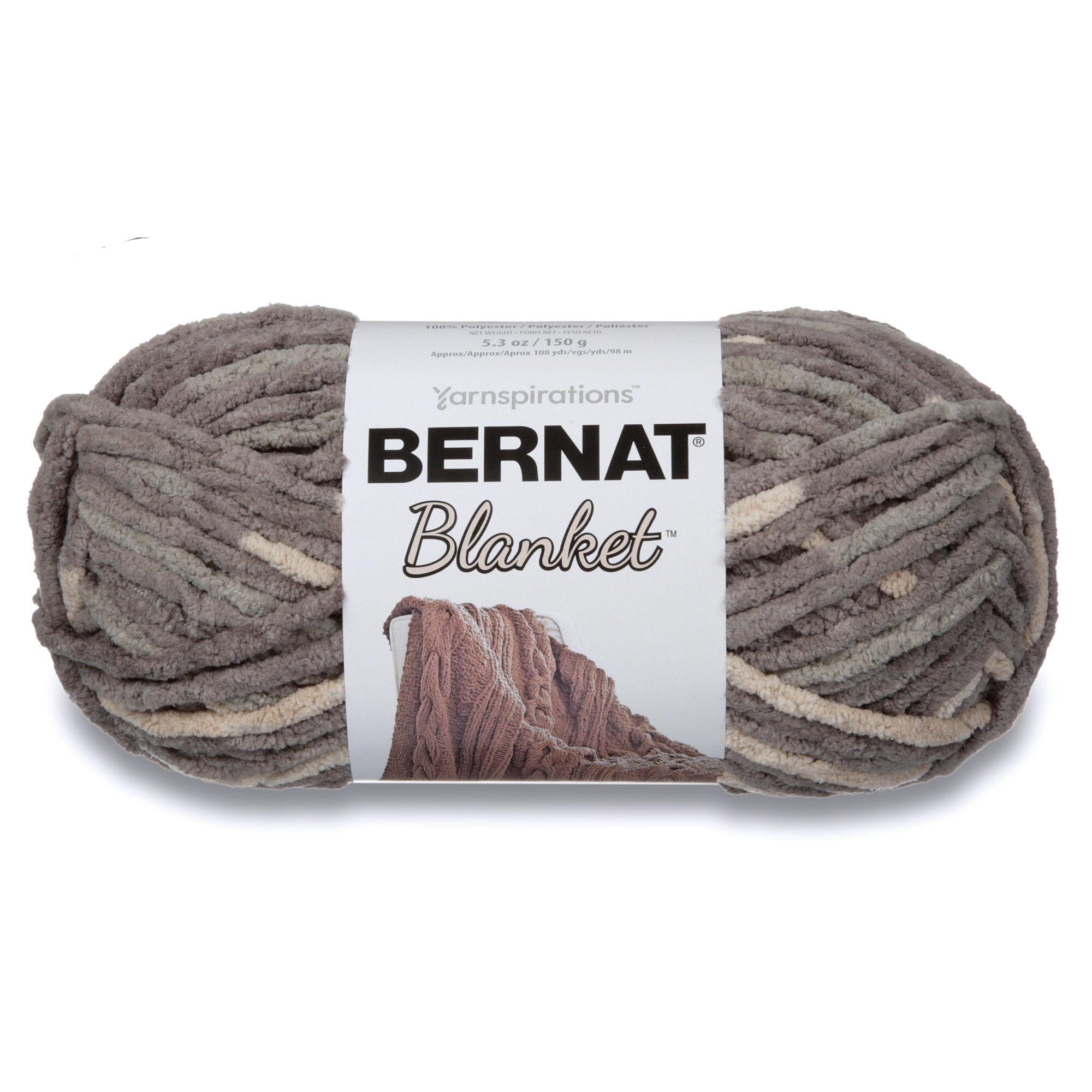 Bernat Blanket Yarn (150g/5 3 oz) Silver Steel | Yarnspirations