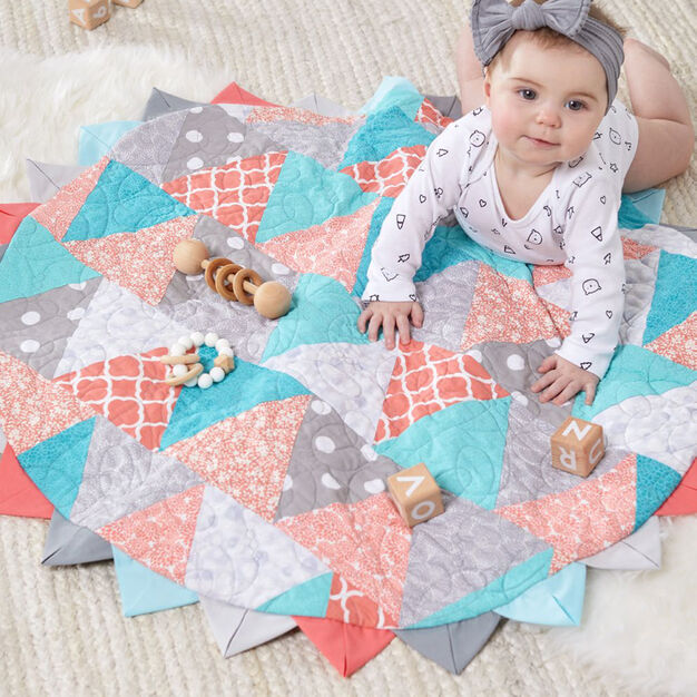 Dual Duty Tummy Time Mat for Baby in color