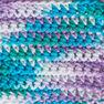 Lily Sugar'n Cream Super Size Ombres Yarn, Beach Ball Blue in color Beach Ball Blue Thumbnail Main Image 3}