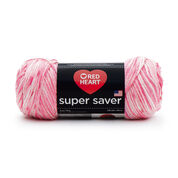 Go to Product: Red Heart Super Saver Yarn in color Tourmaline