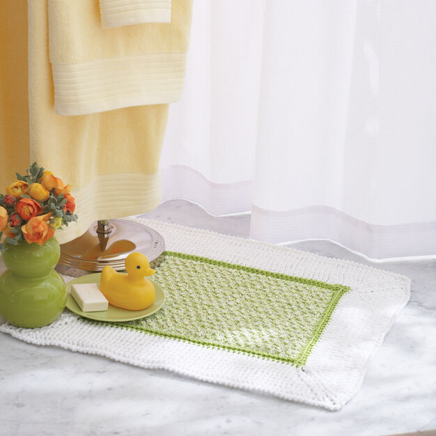 Lily Sugar'n Cream Bath Mat