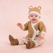 Go to Product: Red Heart Teddy Sweater and Hat, 0/3 mos in color