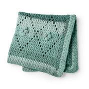 Bernat Diamond Filet Crochet Blanket