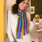 Go to Product: Red Heart Holiday Gift Scarf in color
