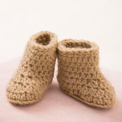 Red Heart Warm Baby Boots