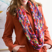 Go to Product: Red Heart Rev Up the Color Cowl in color