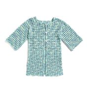 Go to Product: Bernat Crochet Summer Cardigan, XS/S in color