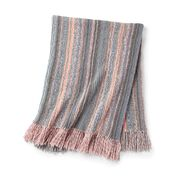 Go to Product: Caron Swirling Stripes Knit Blanket in color