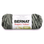 Bernat Super Value Variegates Yarn, Hi Tech