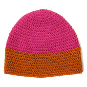 Patons Dipped Striped Crochet Hat