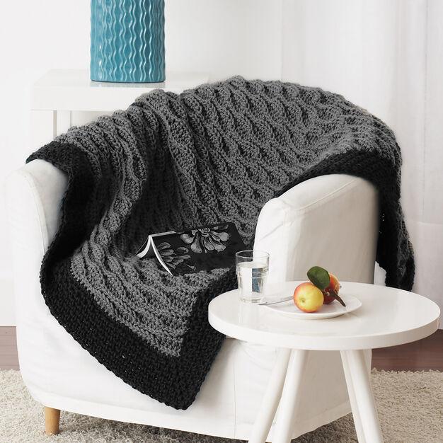 Bernat Quick & Easy Blanket in color
