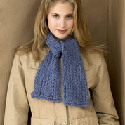 Go to Product: Red Heart Denim Knit Scarf in color
