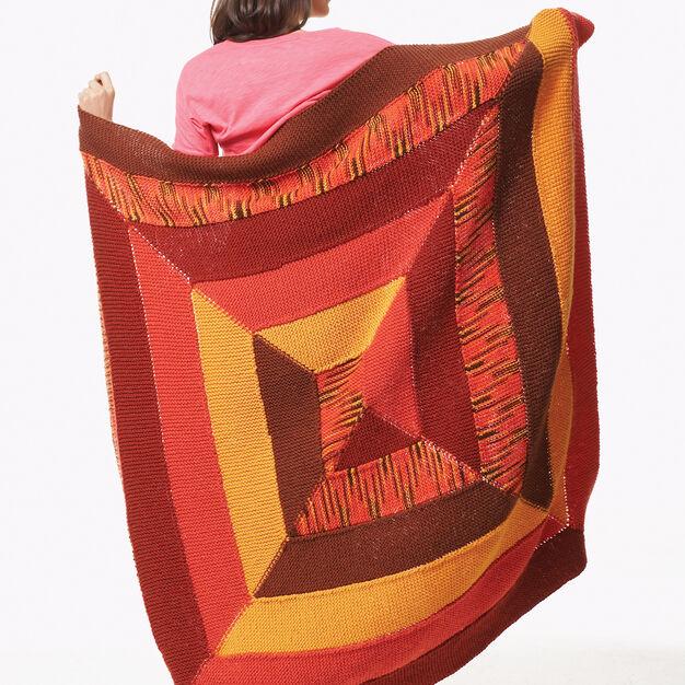 Bernat Pinwheel Blanket