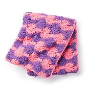 Bernat Spinning Wheels Crochet Blanket