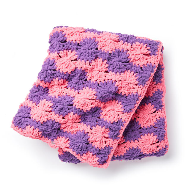Bernat Spinning Wheels Crochet Blanket