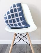 Go to Product: Caron Crochet Windowpane Gingham Baby Blanket in color