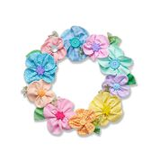 Go to Product: Coats & Clark May Flowers Wreath in color