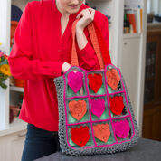 Go to Product: Red Heart I Love My Tote Bag in color