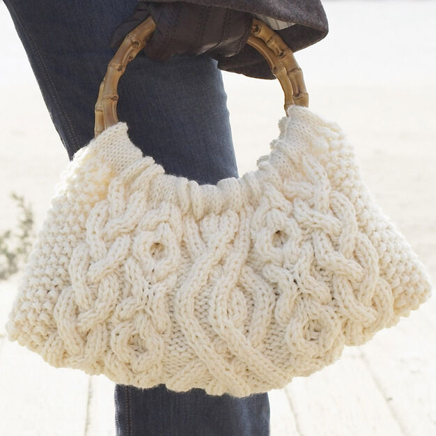 Patons Cabled Bag