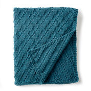 Bernat Reversible Knit Lap Blanket
