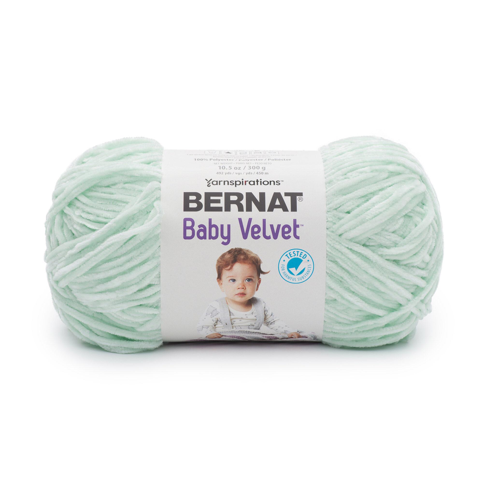Bernat Baby Velvet Yarn, Seafoam | Yarnspirations