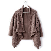 Go to Product: Patons Crochet Granny Cardigan, XS/S in color