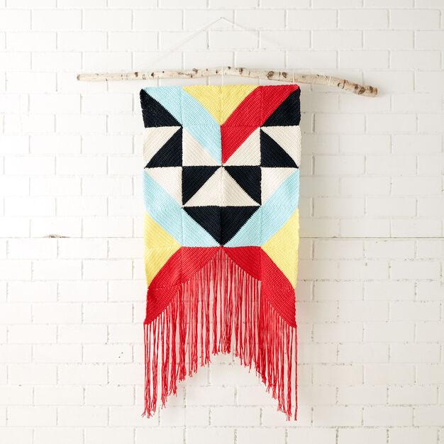 Lily Sugar'n Cream Geometric Wall Hanging