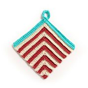Go to Product: Lily Crochet Right Stripe Dishcloth in color