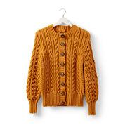 Patons Dovercourt Knit Cardigan, XS/S