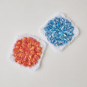 Go to Product: Red Heart Floral Popcorn Scrubby in color