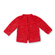 Go to Product: Bernat Go-Go Garter Stitch Knit Baby Jacket, 6 in color