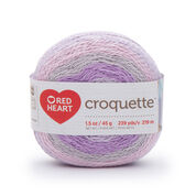 Go to Product: Red Heart Croquette Yarn, Fairy Dust in color Fairy Dust