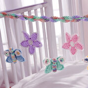 Lily Sugar'n Cream Baby's Crib Mobile, Butterflies