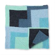 Bernat Meeting Corners Knit Blanket