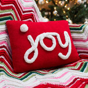 Go to Product: Red Heart Holiday JOY Pillow in color